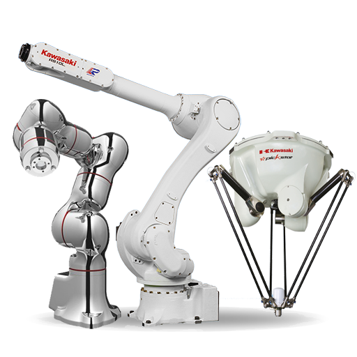 Kawasaki medical, handling, pick and place robots